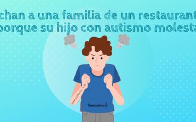 Echan a una familia de un restaurante porque su hijo con autismo molesta